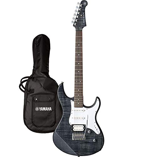Yamaha Pacifica 212 VFM TBL elektrische gitaar, elektrische gitaar in Trans Black