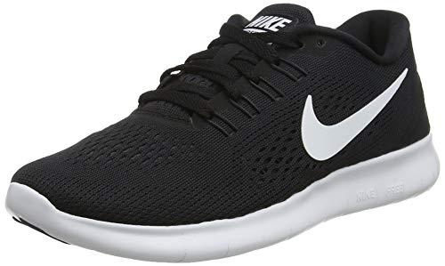 Nike Damen Free Rn Laufschuhe, Schwarz (Schwarz/Weiß/Anthrazit), 35.5 EU