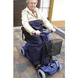Rollstuhl-Wickeldecke XXL Nylon innen Fleece (Pellis), Rollstuhl-Zubehör