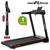 Movi Fitness Tapis roulant Professionale MF297, Pieghevole salvaspazio,...