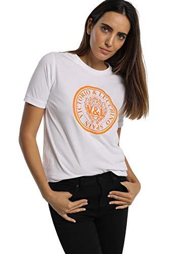 V & L DE VICTORIO & LUCCHINO  Camiseta Mujer Ropa Original para ti o para Regalar Nueva colección con...
