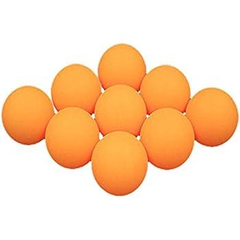BESPORTBLE 10Pcs Balles de Ping-Pong de Pratique Balles de Tennis de Table Blanc