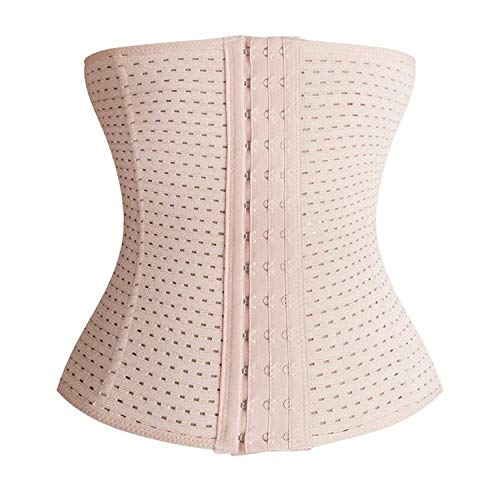 Brachy Women's Magical Wire No Rolling Down Tummy Tucker Women's Shapewear Fine Tummy and Thigh Shaper (Cream,M-L)
