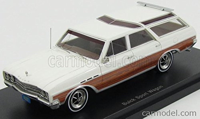 Buick Sport Wagon, weiss Holzoptik, 1965, Modellauto, Fertigmodell, BoS-Models 1 43 B018SPTTUA Der neueste Stil  | Heißer Verkauf