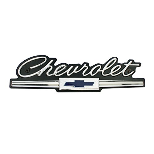 KNS Accessories KC4528 1966 Chevrolet Emblema de parrilla frontal estándar para Impala, Bel Air,…