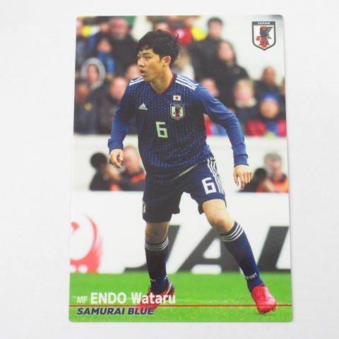 2018カルビー日本代表■レギュラーカード■17/遠藤航 ≪カルビーサッカー日本代表チップスカード≫