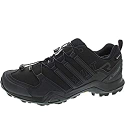 Adidas men's Terrex Swift R2 GTX trekking & hiking shoes, black (Negbas 000), 46 2/3 EU