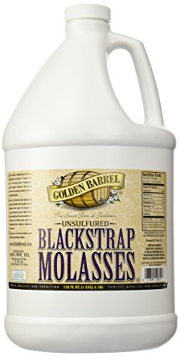 Golden Barrel Bulk Unsulfured Blackstrap Molasses Jug (a128 Fl Oz)