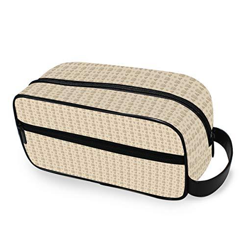 Stockage Trousse De Toilette Maquillage Sac Voyage Portable Outils Cosmétique Train Case Organisateur de Bande Dessinée Turquie Motif Sans Couture