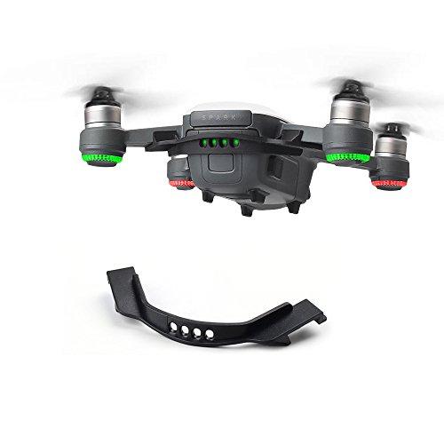 Rantow Clip per fibbia anti-allentato per batteria per DJI Spark Drone Supporto fisso per batteria anti-spargimento (Black)