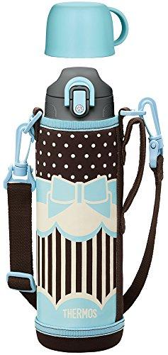 サーモス 真空断熱2ウェイボトル 1リットル リボンブルー FHO-1000WF RBBL 水筒