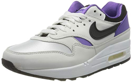 Nike Air MAX 1 DNA Ch.1, Zapatillas para Correr para Hombre, White/Black/Purple Punch, 36 EU
