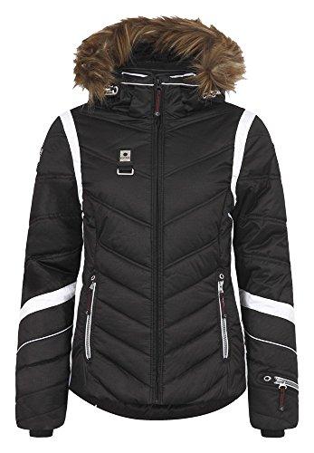 Icepeak Odda IA echte bontkraag winterjas dames zwart *UVP 199,95 44