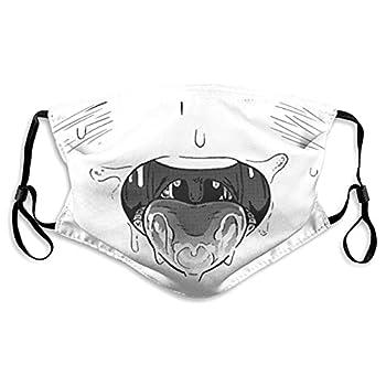 Ahegao Face Mask Reusable Adjustable Outdoor Sports Dust Mask Face Cover Balaclava Unisex