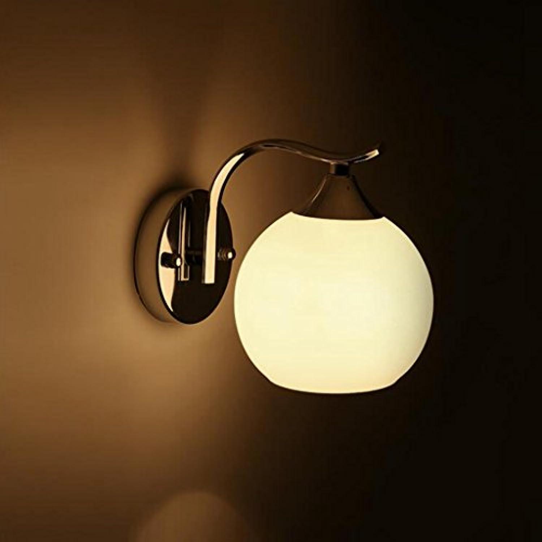 Madaye Modern einfach europisch design LED double sphrisch Hotel Schlafzimmer Nachttisch Wandleuchte