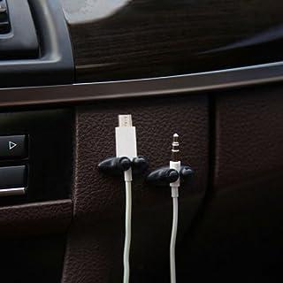 Vertrieb Wildermuth Neuheit 4X Kabelmanger fürs Auto zb für KFZ Ladekabel, Handykabel, Ladekabel, Navigation, Lautsprecherkabel, ect
