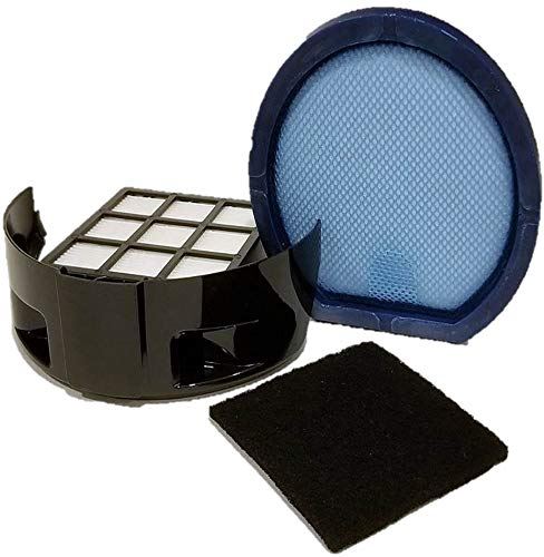 Hoover Windtunnel T-Series Filter Kit 1 Primary Filter + 1 Hepa Filter & 1 Carbon Charcoal Filter, Fits Upright Vacuums, Compare to Part # 303172001, 303172002 and 902404001