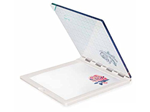 We R Memory Keepers 663007 Pressa di Precisione per Uno Stamping Accurato, Plastic, Bianco, 20x19x1.1 cm, Multicolore, Taglie Unica