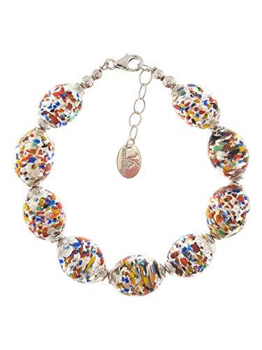 Venetiaurum - Bracelet pour femme avec perles en véritable...