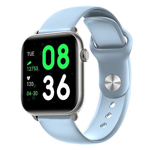 JIANGHONGYAN Rastreadores de Actividad KW37 1.3 Pulgadas Pantalla TFT IP68 Reloj Inteligente Impermeable, Soporte Monitor de suspensión/Monitor de Ritmo cardíaco/Recordatorio de información