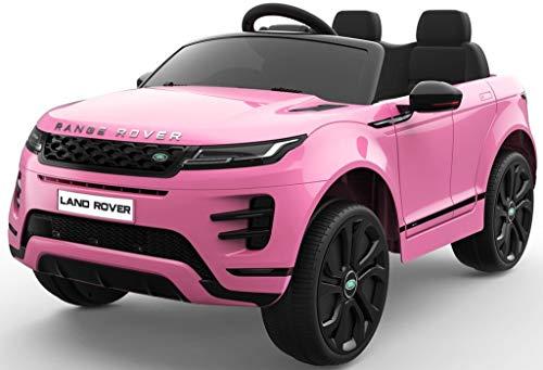Epic Play Ltd Licensed Kids Range Rover Evoque HSE Sport 12v Electric Battery Ride on car - Pink