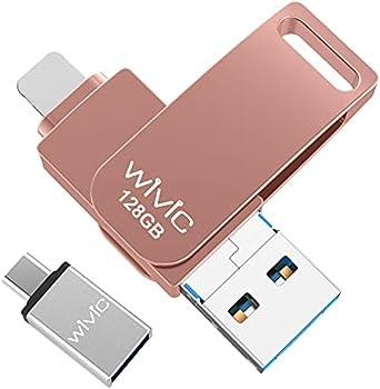 WIVIC 128GB USB 3.0 Flash Drive