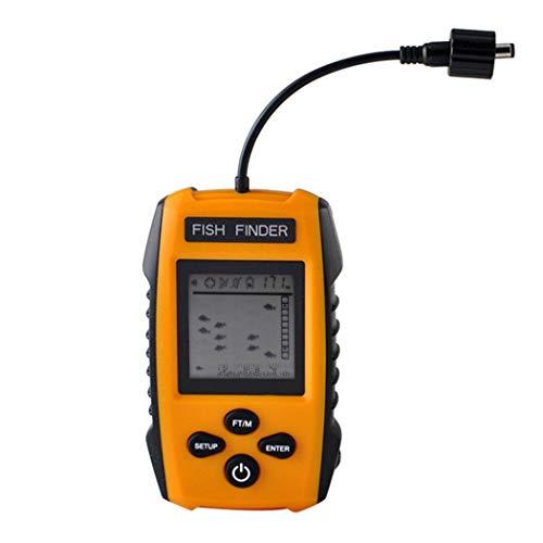 finew Drahtloser Portabe Sonar-Sensor-Wandler-Detektor im Freienfischen-Fisch-Sucher Fischfinder