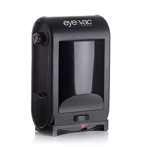 EyeVac PRO Touchless Stationary Vacuum - 1400 Watts Professional Vacuum with Active Infrared Sensors, High Efficiency Filtration, Bag-Less Canister (Black)