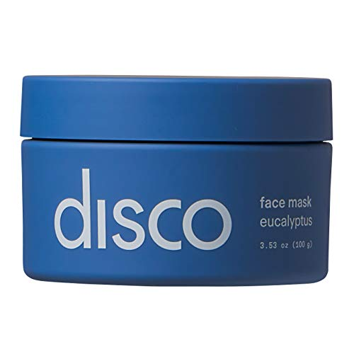 Face Mask by Disco for Men, Detoxifying and Cleansing, All Natural and Paraben Free, 3.53 Ounces