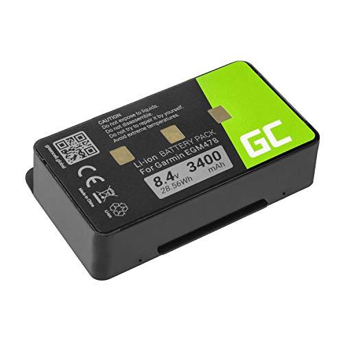 Green Cell ® 010-10517-00 011-00955-00 Bateria do nawigacji GPS Garmin EGM478 GPSMAP 276 276c 296 376c 378 396 478 495 496 (ogniwa litowo-jonowe 340 mAh 8,4 V) trwałe ogniwa, 30-dniowy zwrot