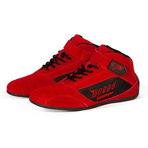 Speed Milan KS-2 - Zapatos de karting, color Rojo, talla 41