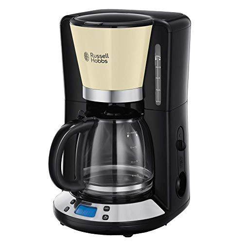Cafetera Goteo 6 Tazas Programable Marca Russell Hobbs