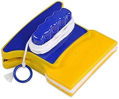 HSJ LF- Limpiador de Ventanas magnéticas cuadradas Limpiador de Vidrio de Doble Cara Limpiador de Equipos para el hogar Limpiador Limpio