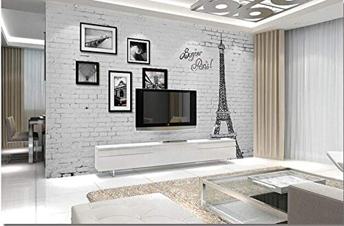 3D vliesbehang fotobehang abstract behang baksteen foto-wandschilderij behang van de muur 3D voor woonkamer slaapkamer-uitgangswand-kunst-decor 250*175 250 x 175 cm.