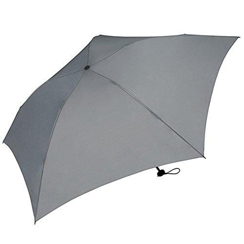 ワールドパーティー(Wpc.) 雨傘 折りたたみ傘 グレー 55cm レディース メンズ ユニセックス 超軽量76g MSK55-030