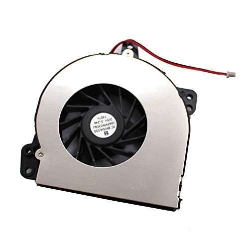 Nuevo ventilador de refrigeración de la CPU del ordenador portátil para HP Compaq 500, 510, 520, 530, 540 C700 Presario HP Compaq A900 Series, AT010000200 438528-001 ( Color : Default )