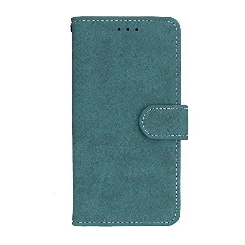 Sangrl Lederhülle Schutzhülle Für Asus ZenFone 2 ZE551ML / ZE550ML (5.5Zoll), PU-Leder Klassisches Design Wallet Handyhülle, Mit Halterungsfunktion Kartenfächer Flip Hülle Blau