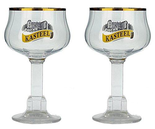 Vaso de Cerveza 33cl (Set de 2) Kasteel Caliz Belgica