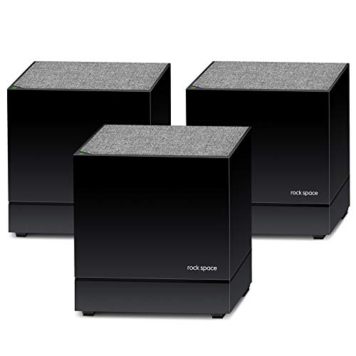 Whole Home WiFi System- Dual Band Mesh WiFi System, AC1200 High Speed Seamless Roaming WiFi Network, Easy Set up & Manage with APP, Wide Coverage up to 5380 sq.ft, Ideal for 6+ Bedrooms Home(3 Pack)