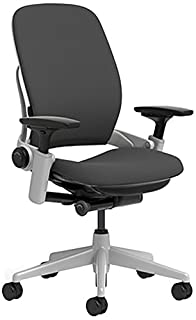 Steelcase Leap Chair with Platinum Base & Hard Floor Caster, Black (B01F7B0ZJM)   Amazon price tracker / tracking, Amazon price history charts, Amazon price watches, Amazon price drop alerts