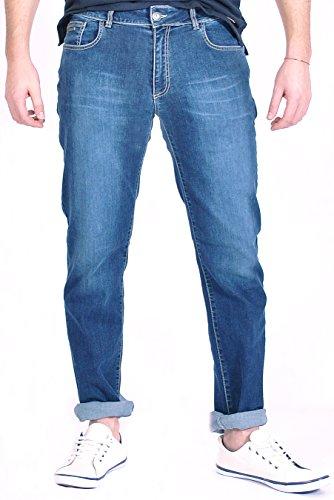 Bonaventure 5BSLIM Pantalones, Azul (Blue Denim 1477), 46 (Tamaño del Fabricante:46) para Hombre