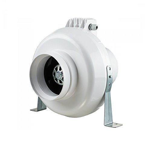Radialer Rohrventilator mit EC Motor VK EC-Serie / Ø 100- Ø 315 / 340-1500 m³/h Rohrlüfter Einschublüfter Rohrventilatoren / Zwischenlüfter / Kanalventilator Lüfter (Ø 315)