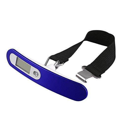 Herramientas de hardware Mini báscula Básculas de bolsillo para joyería Báscula digital LCD Báscula electrónica de mano para una maleta de viaje Peso Equipaje Equilibrio Pesador-Máquina 50Kg-_