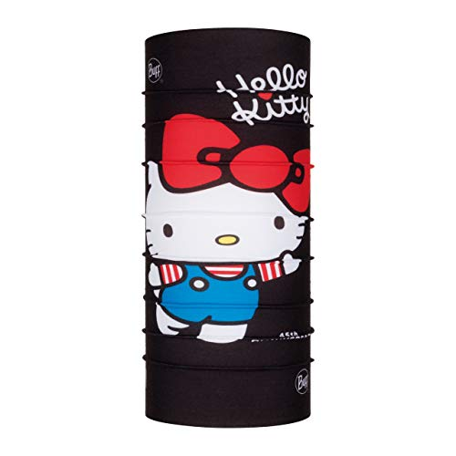 Buff 45Th Tour de Cou Original Hello Kitty Jr Fille Noir FR : Taille Unique (Taille Fabricant : Taille One sizeque)