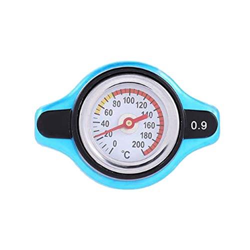 ShenyKan Kühlerdeckel Erhöhen Sie den Druck Kühlerdeckel Thermoste Kühlerdeckelabdeckung mit Wassertemperaturanzeige 0,9 bar / 1,1 bar / 1,3 bar Abdeckung