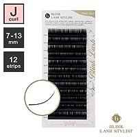 まつげエクステ《世界初!レーザー加工》BLINK ミンクラッシュ (Jカール) (12列) (0.10 / 8mm)