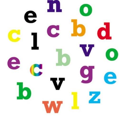 FMM Lower Case Block Alphabet Tappit Cutters Set