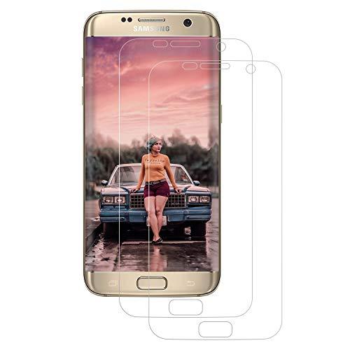 DASFOND Pellicola Protettiva Compatibile per Samsung Galaxy S7, [2 Pezzi] Pellicola con Samsung Galaxy S7, Ultra-Sottile, Copertura Completa, Senza Bolle - Non Vetro