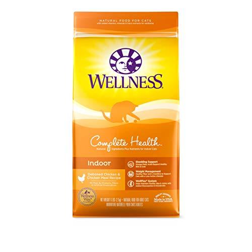 Wellness Complete Health Natural Dry Cat Food Indoor Chicken