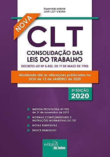 CLT – Consolidação das Leis do Trabalho 2020 - Mini